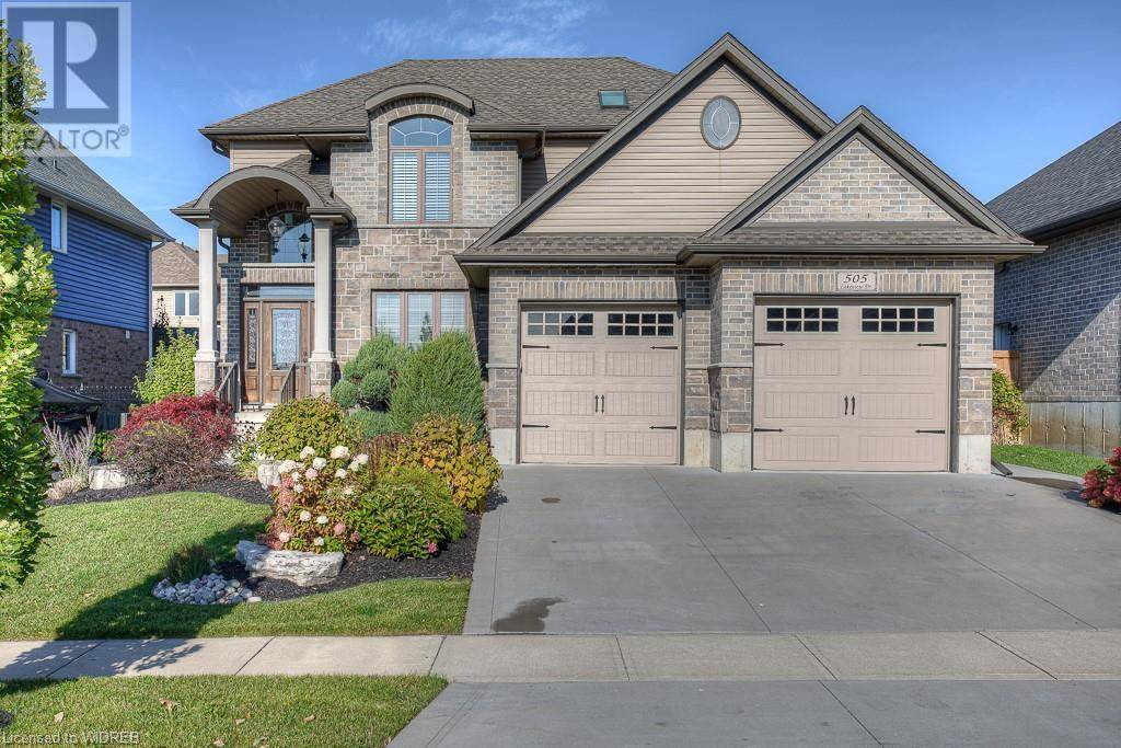 House for sale at 505 Lakeview Dr Woodstock Ontario - MLS: 243036