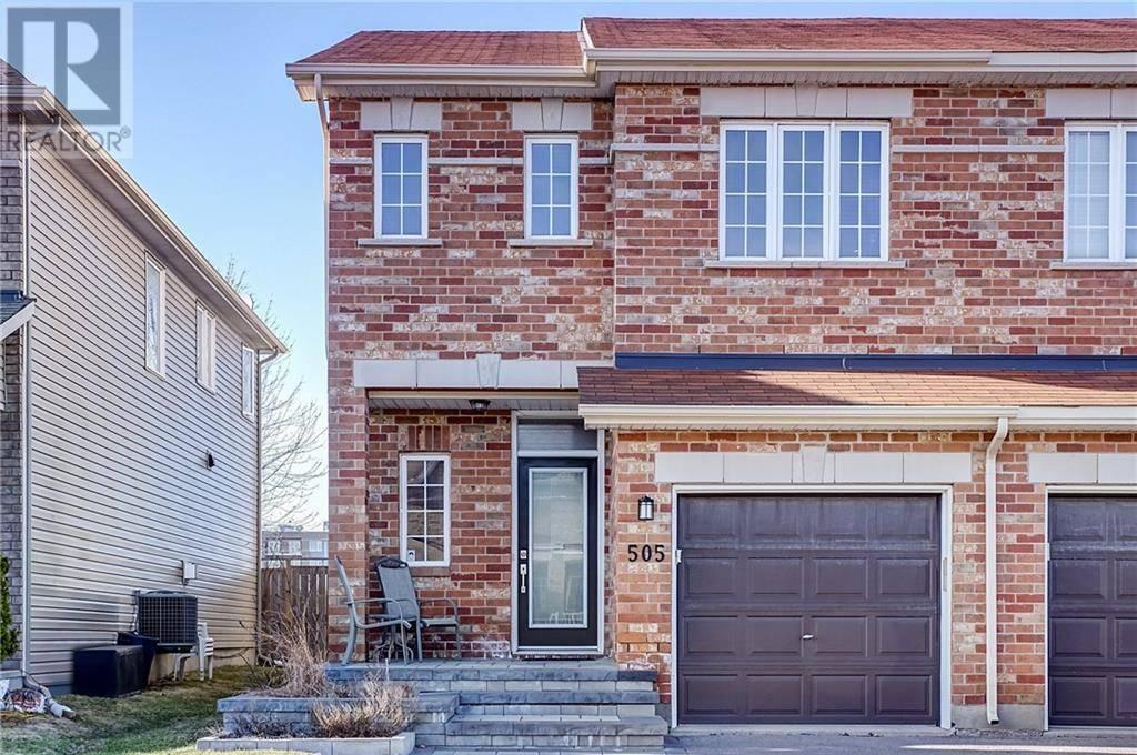 Townhouse for sale at 505 Salzburg Dr Ottawa Ontario - MLS: 1188471