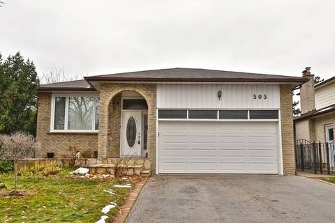 House for sale at 505 Tipperton Cres Oakville Ontario - MLS: W4639591