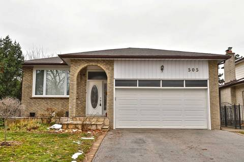 House for sale at 505 Tipperton Cres Oakville Ontario - MLS: W4686910