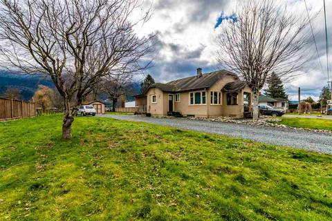 House for sale at 50548 Yale Rd Rosedale British Columbia - MLS: R2434897