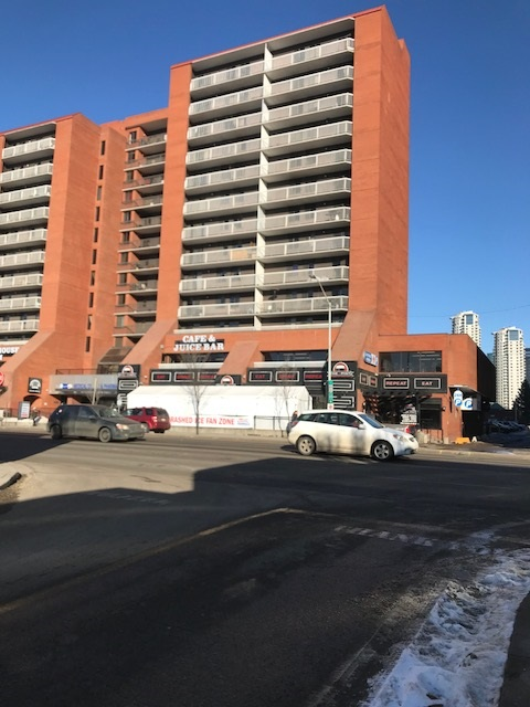 For Sale: 506 - 10125 109 Street, Edmonton, AB | 2 Bed, 2 Bath Condo for $204,900. See 10 photos!
