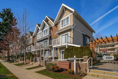 Townhouse for sale at 1661 Fraser Ave Unit 506 Port Coquitlam British Columbia - MLS: R2446911