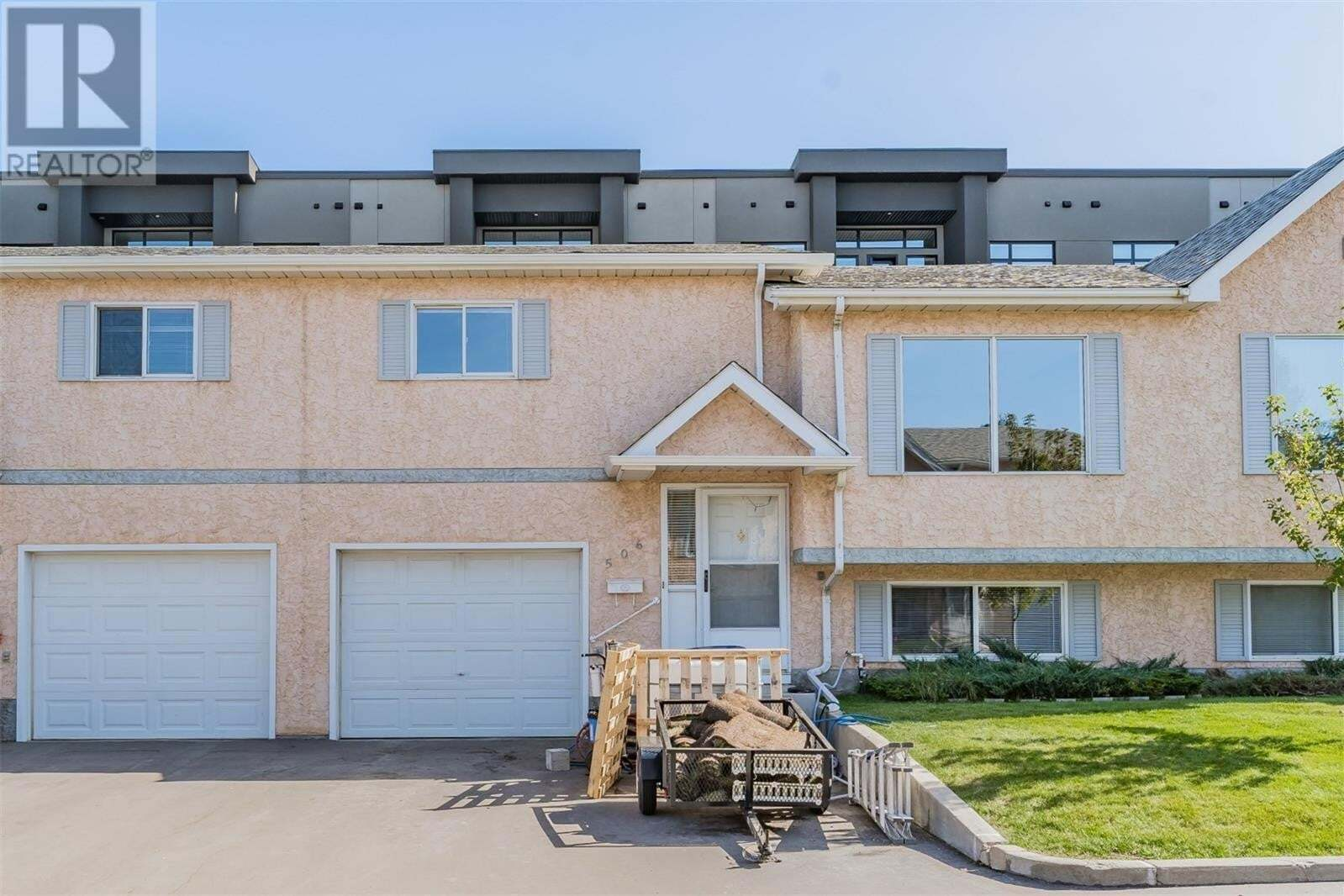 Townhouse for sale at 510 Perehudoff Cres Unit 506 Saskatoon Saskatchewan - MLS: SK827258