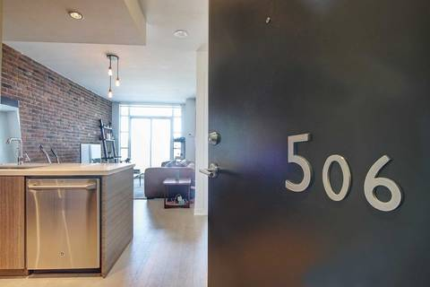 Condo for sale at 88 Colgate Ave Unit 506 Toronto Ontario - MLS: E4637265