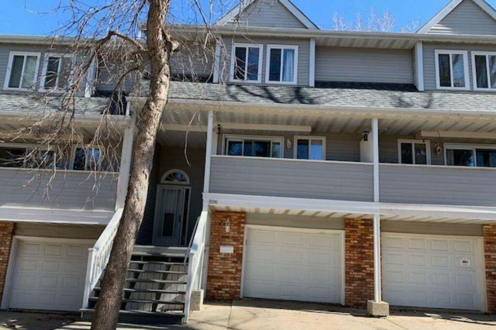 Townhouse for sale at 506 Woodbridge Wy Sherwood Park Alberta - MLS: E4195921
