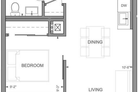 Apartment for rent at 246 Logan Ave Unit 507 Toronto Ontario - MLS: E4929359