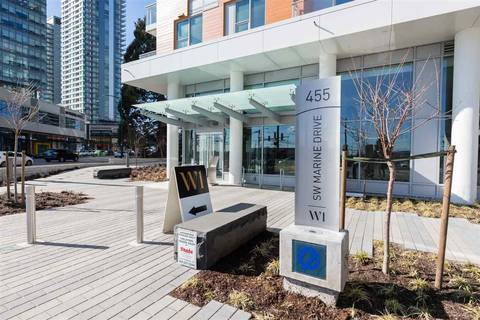 Condo for sale at 455 Marine Dr SW Unit 507 Vancouver British Columbia - MLS: R2349565