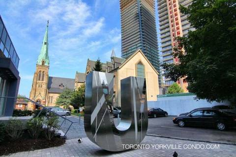 Apartment for rent at 65 St Mary St Unit 507 Toronto Ontario - MLS: C4729554