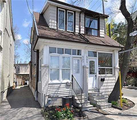 For Sale: 507 Greenwood Avenue, Toronto, ON | 2 Bed, 2 Bath Townhouse for $589,000. See 5 photos!