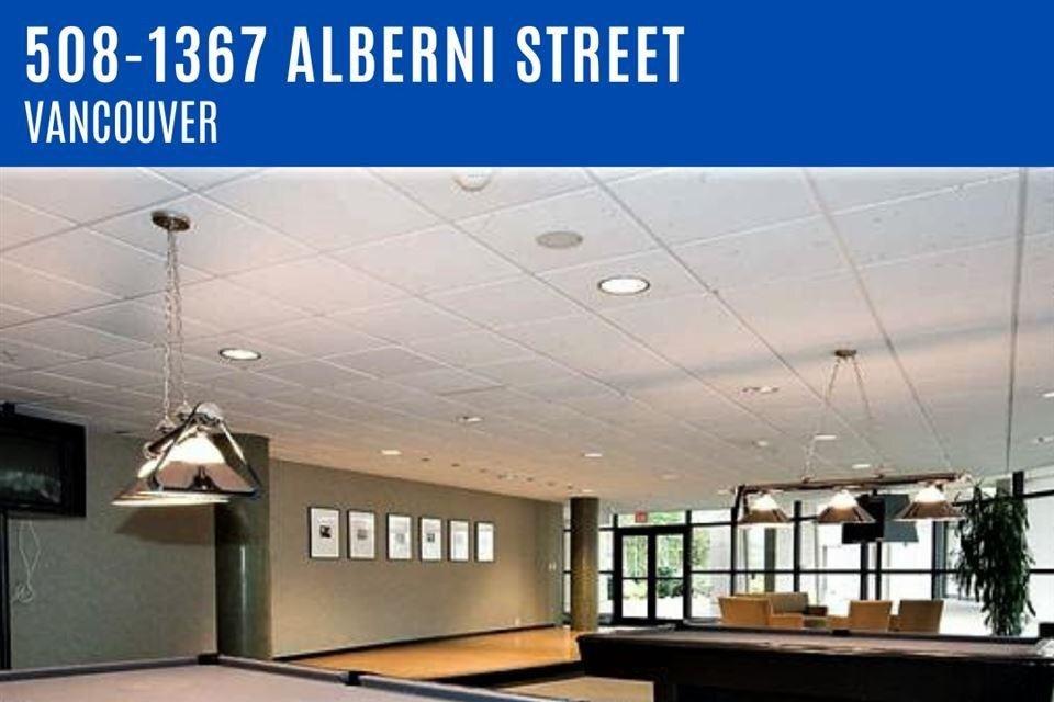 Apartment for rent at 1367 Alberni St Unit 508 Vancouver British Columbia - MLS: R2518332