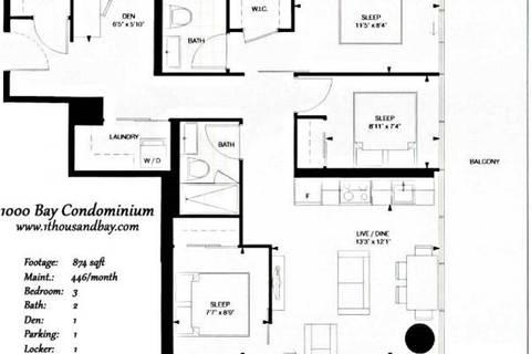 Apartment for rent at 57 St Joseph St Unit 508 Toronto Ontario - MLS: C4472384