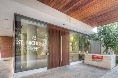 Condo for sale at 75 St Nicholas St Unit 508 Toronto Ontario - MLS: C4622186