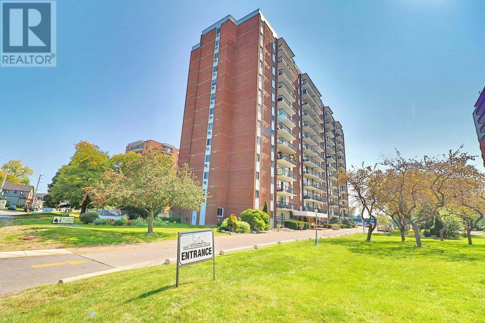 Condo for sale at 8591 Riverside Dr East Unit 508 Windsor Ontario - MLS: 20012812