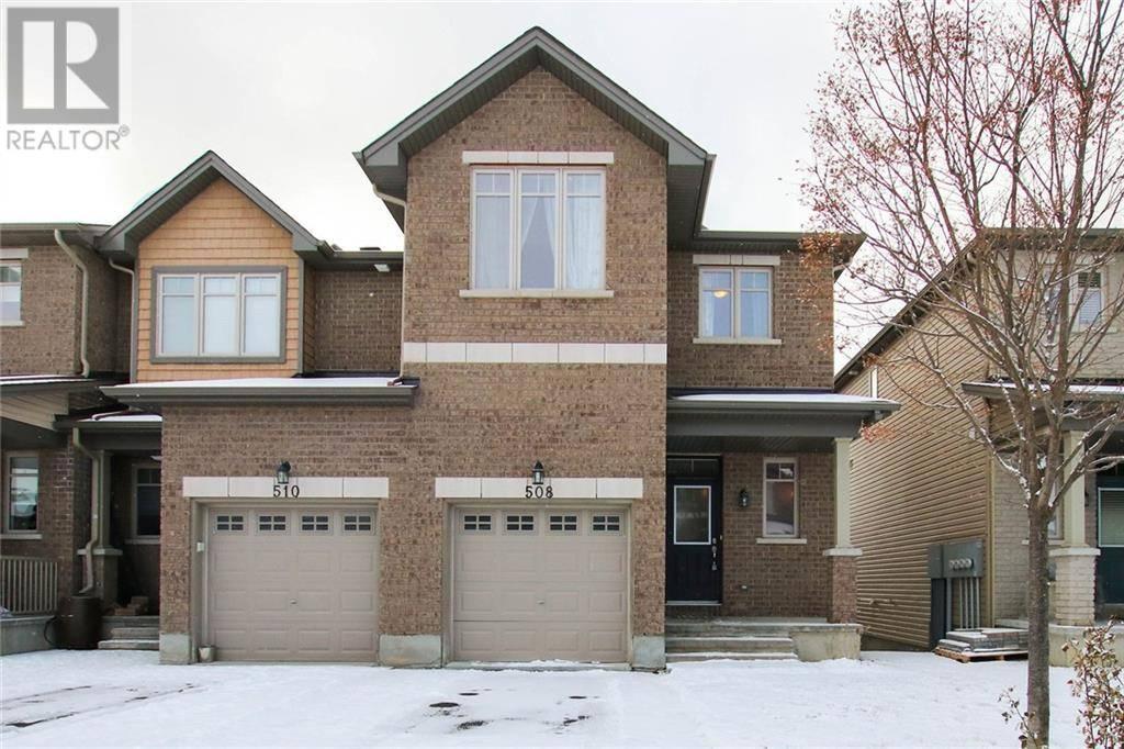 Townhouse for sale at 508 Knotridge St Ottawa Ontario - MLS: 1176721