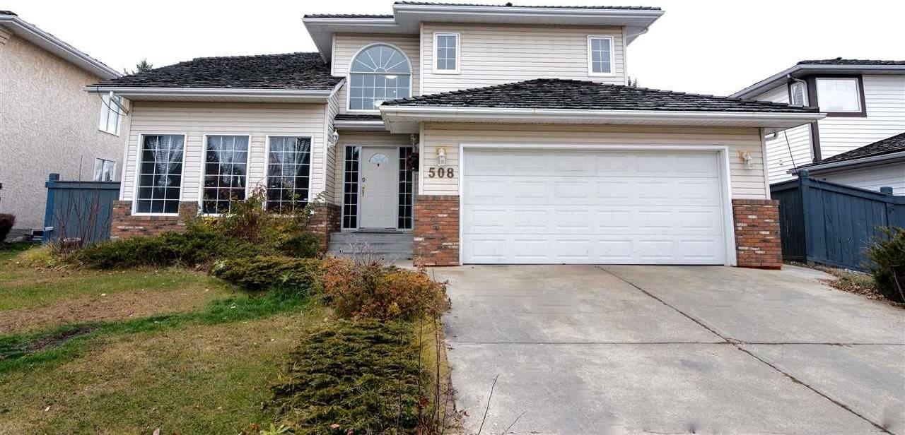 House for sale at 508 Wilkin Pl Nw Edmonton Alberta - MLS: E4166572