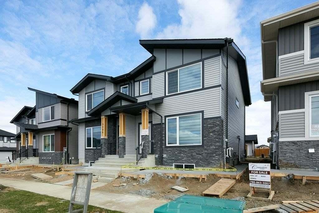 Townhouse for sale at 5084 Chappelle Rd SW Edmonton Alberta - MLS: E4197922