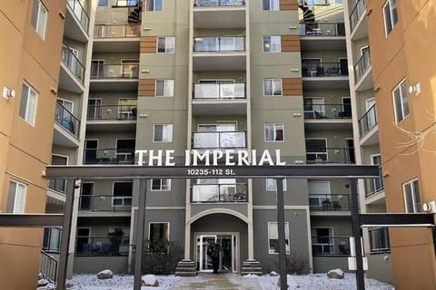 Condo for sale at 10235 112 St Nw Unit 509 Edmonton Alberta - MLS: E4179096