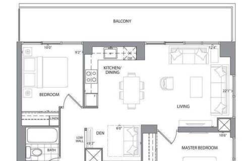 Apartment for rent at 609 Avenue Rd Unit 509 Toronto Ontario - MLS: C4770697