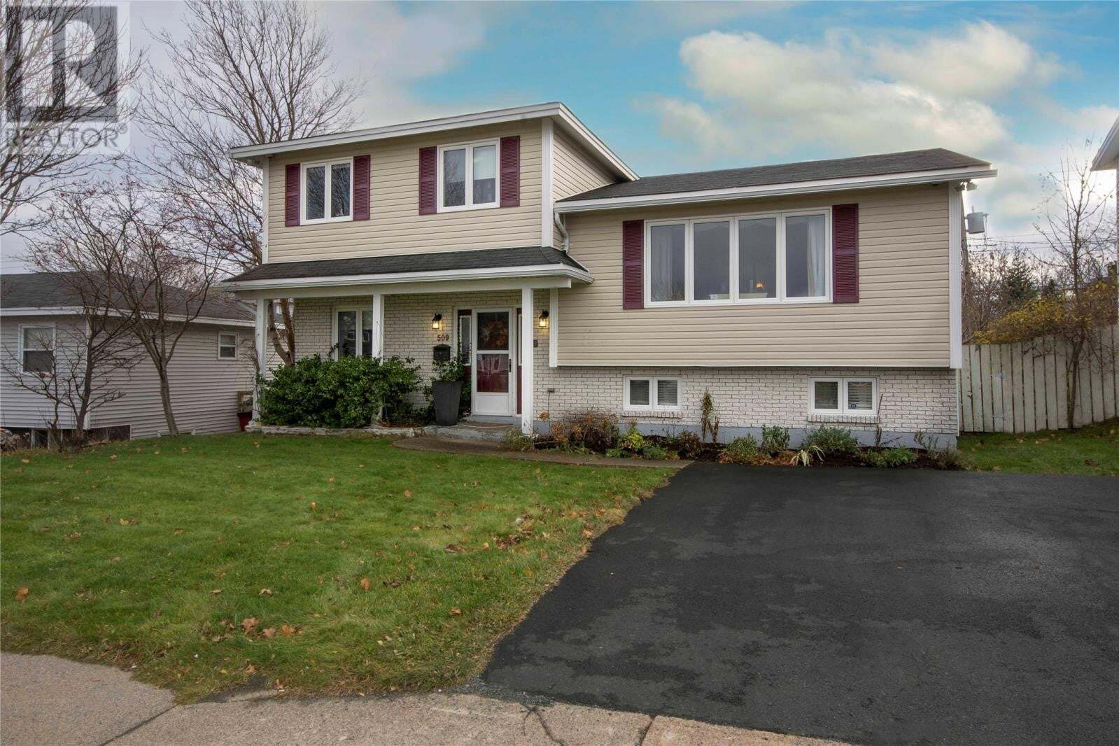House for sale at 509 Newfoundland Dr St. John's Newfoundland - MLS: 1221598