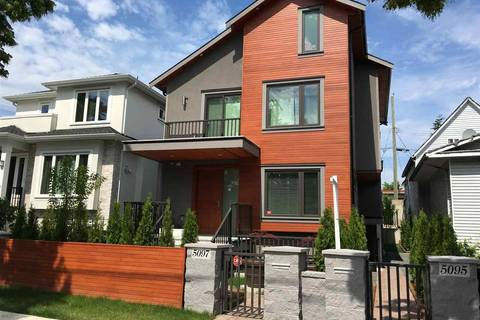 Townhouse for sale at 5095 Moss St Vancouver British Columbia - MLS: R2281680
