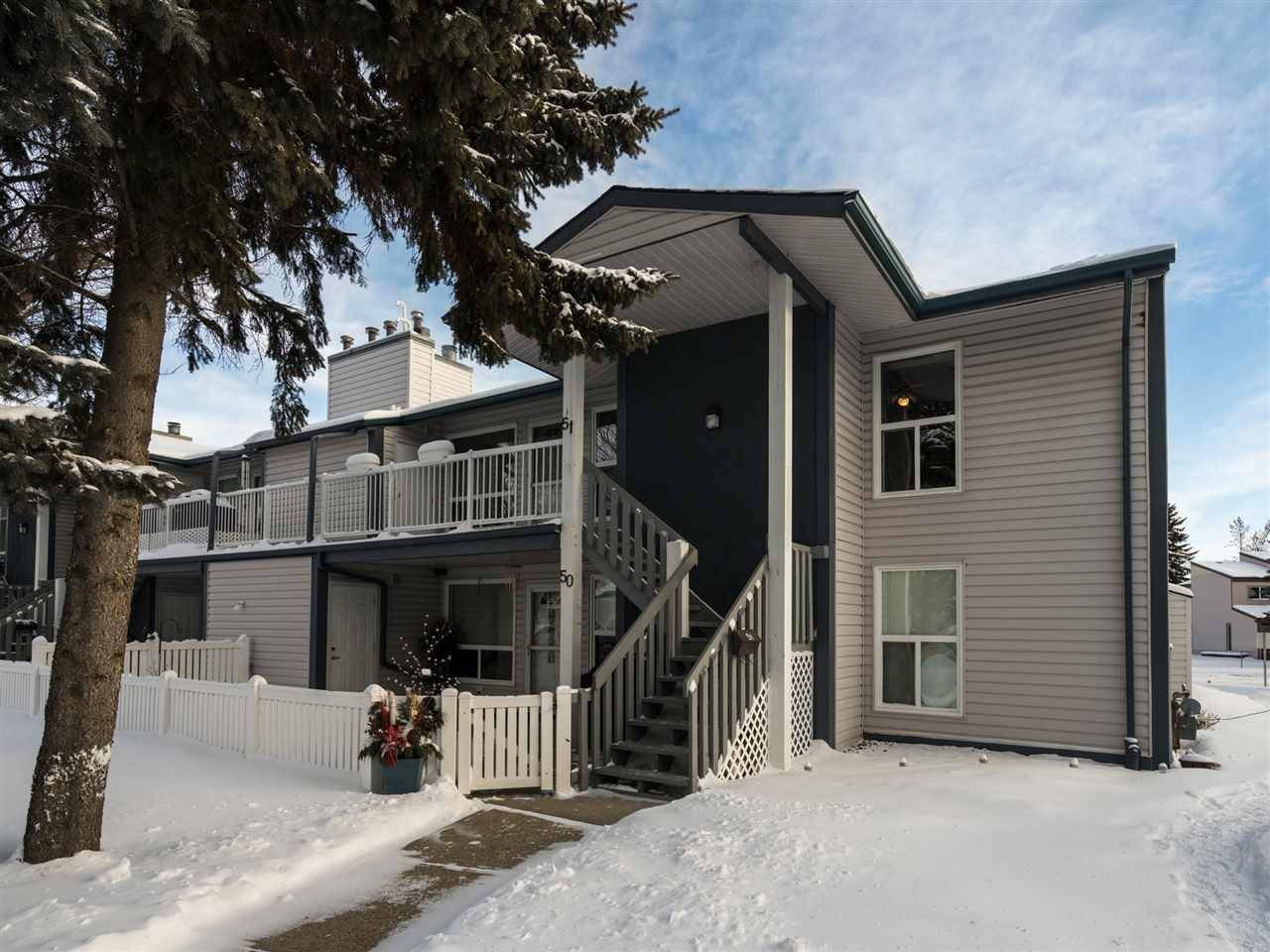Townhouse for sale at 14620 26 St Nw Unit 51 Edmonton Alberta - MLS: E4185042