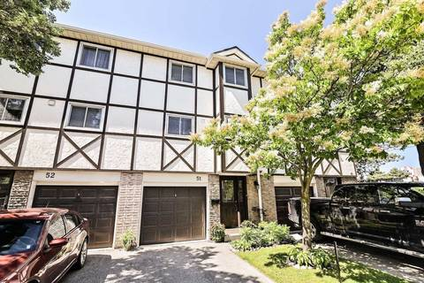 Condo for sale at 1485 Gulleden Dr Unit 51 Mississauga Ontario - MLS: W4512307