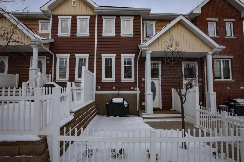 Townhouse for sale at 1623 Towne Center Blvd Nw Unit 51 Edmonton Alberta - MLS: E4183492