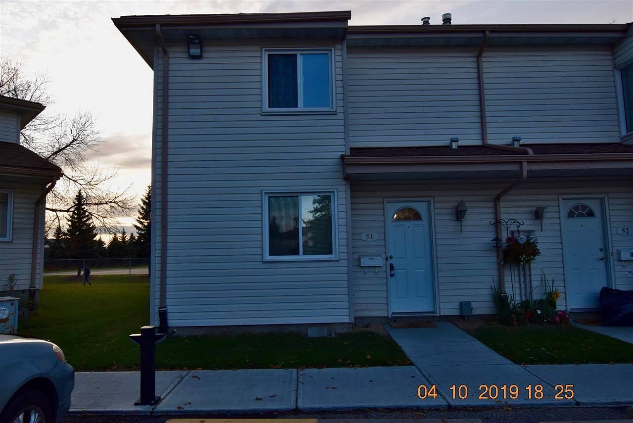 Townhouse for sale at 2024 57 St Nw Unit 51 Edmonton Alberta - MLS: E4176192