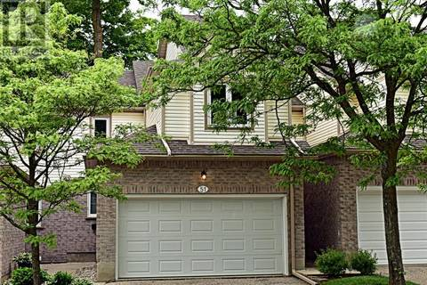 Townhouse for sale at 365 Bennington Gt Unit 51 Waterloo Ontario - MLS: 30743009
