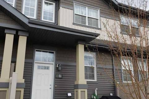 Townhouse for sale at 4029 Orchards Dr Sw Unit 51 Edmonton Alberta - MLS: E4155968