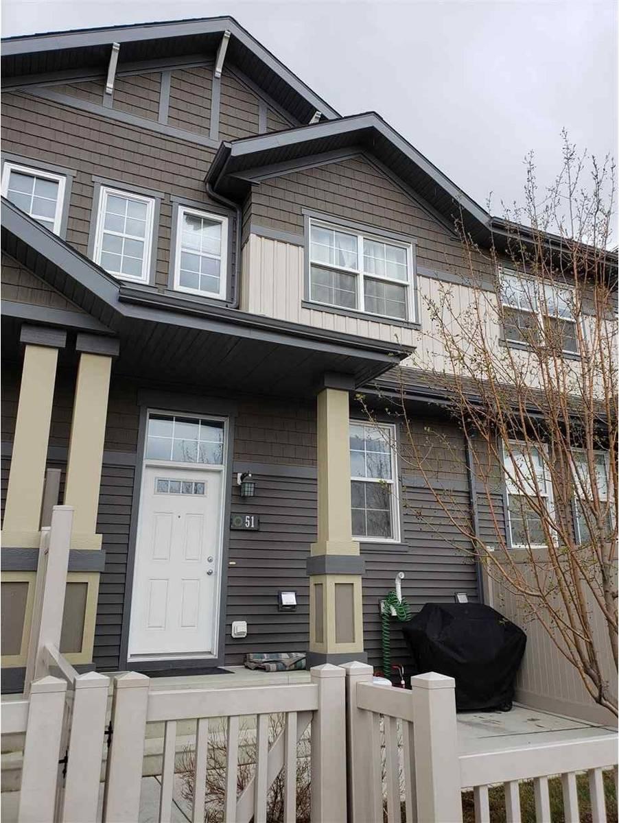 Townhouse for sale at 4029 Orchards Dr Sw Unit 51 Edmonton Alberta - MLS: E4169134