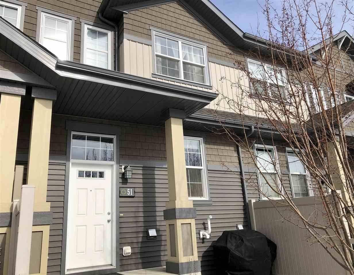Townhouse for sale at 4029 Orchards Dr Sw Unit 51 Edmonton Alberta - MLS: E4190259