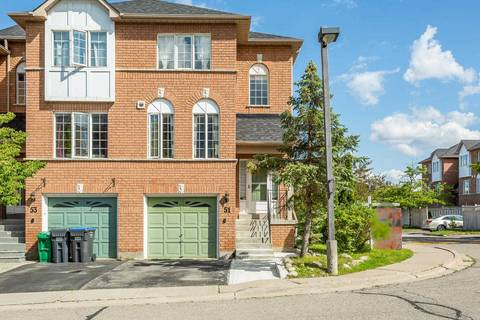 Townhouse for sale at 57 Brickyard Wy Unit 51 Brampton Ontario - MLS: W4495631