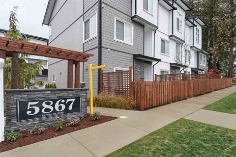 Townhouse for sale at 5867 129 St Unit 51 Surrey British Columbia - MLS: R2423600