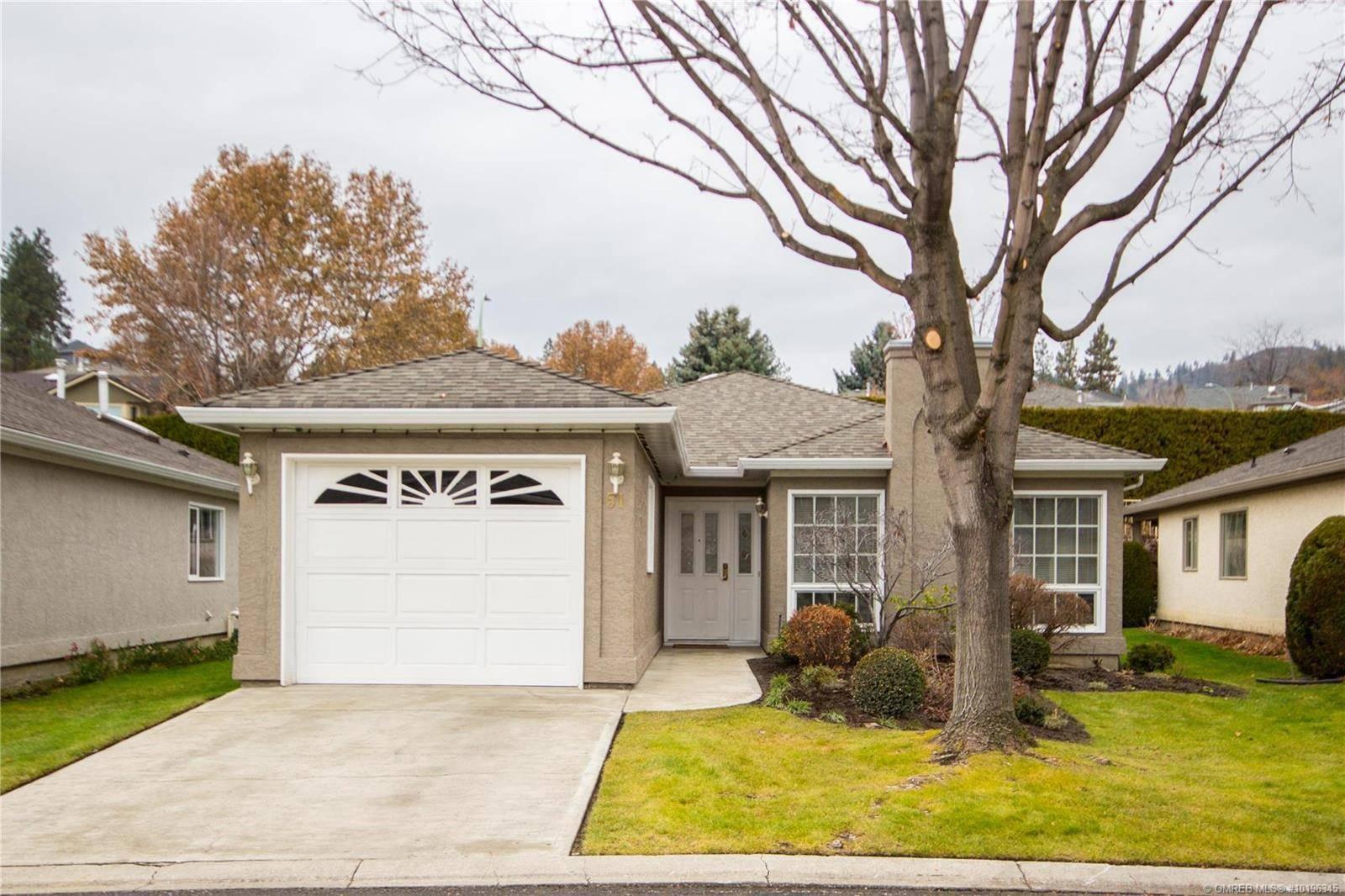Townhouse for sale at 615 Glenmeadows Rd Unit 51 Kelowna British Columbia - MLS: 10196345