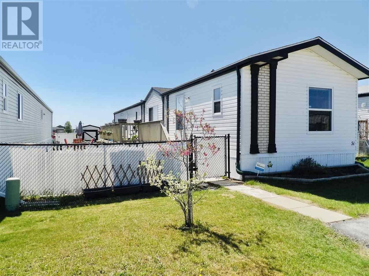Residential property for sale at 9703 82 St Unit 51 Fort St. John British Columbia - MLS: R2409168