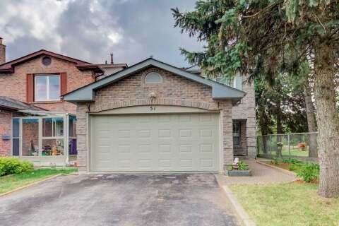 House for sale at 51 Audrelane Ct Toronto Ontario - MLS: E4900771