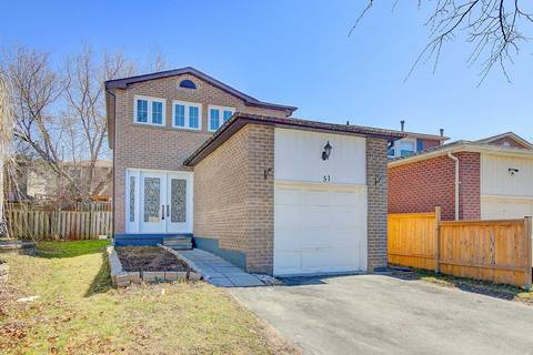 House for sale at 51 Bluesky Cres Richmond Hill Ontario - MLS: N4735859