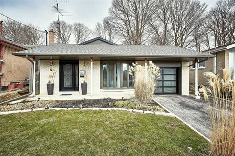 House for sale at 51 Brightside Dr Toronto Ontario - MLS: E4732849