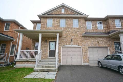 Townhouse for sale at 51 Flurry Circ Brampton Ontario - MLS: W4435346