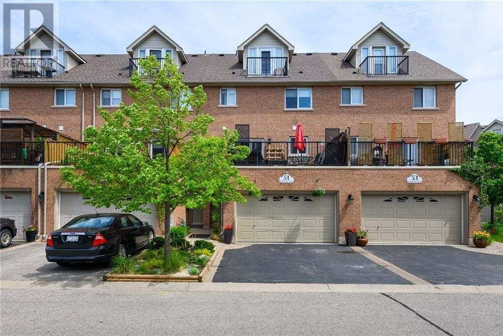 Townhouse for sale at 51 Grosvenor Ln Cambridge Ontario - MLS: 30809004
