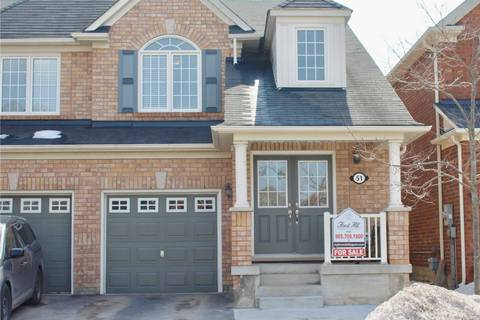 Townhouse for sale at 51 Harry Sanders Ave Whitchurch-stouffville Ontario - MLS: N4389100
