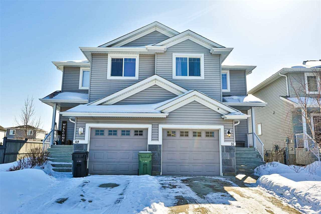 Townhouse for sale at 51 Keystone Cres Leduc Alberta - MLS: E4191866