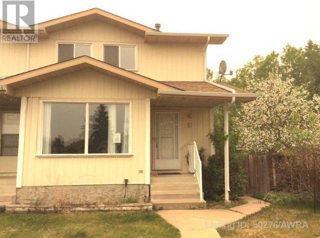 Townhouse for sale at 51 Kimzey Crossing Whitecourt Alberta - MLS: 50276