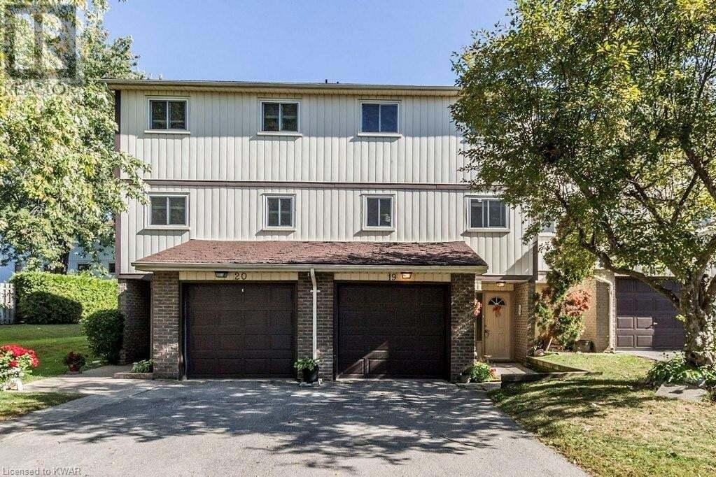 Townhouse for sale at 51 Paulander Dr Kitchener Ontario - MLS: 40022926