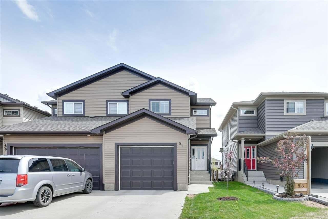 Townhouse for sale at 51 Richmond Li Fort Saskatchewan Alberta - MLS: E4198542