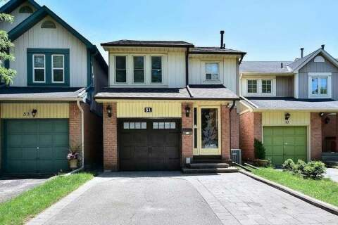 House for sale at 51 Roughfield Cres Toronto Ontario - MLS: E4961392