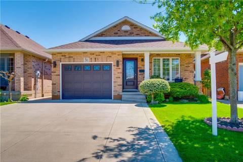 House for sale at 51 Sulmona Dr Hamilton Ontario - MLS: H4054083