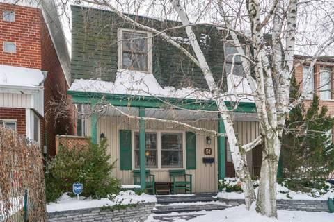 House for rent at 51 Virginia Ave Toronto Ontario - MLS: E4677022